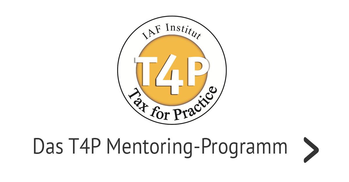 Das T4P Mentoring-Programm für die Steuerberatung – Premium-Angebot für kluge Köpfe
