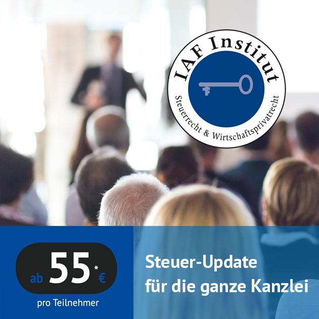 IAF Practice – Seminare für Steuerberater