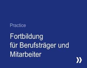 IAF Practice - Fortbildung für Berufsträger und Mitarbeiter